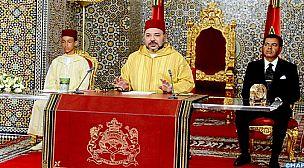 النص الكامل للخطاب السامي الذي وجهه صاحب الجلالة الملك محمد السادس مساء اليوم السبت إلى الشعب المغربي بمناسبة الذكرى الـ 63 لثورة الملك والشعب