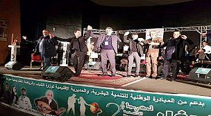 تتويج رضوان البوكيلي بالجائزة الأولى في الحفل الختامي لمهرجان الأغنية العربية بخريبكة