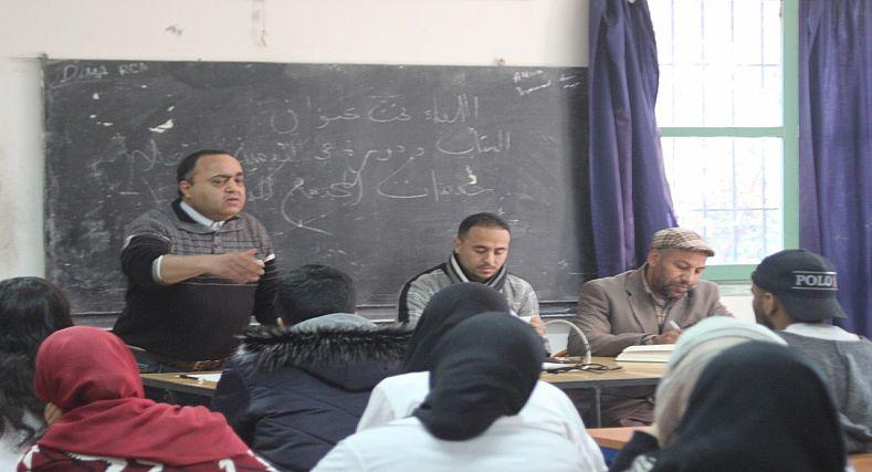 ثانوية الخوارزمي التأهيلية بمراكش تناقش موضوع الشباب والتنمية بالوسط المدرسي
