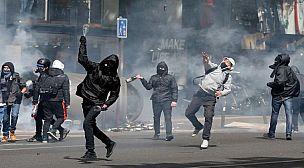 نهب وتخريب في مظاهرات السترات الصفراء بفرنسا