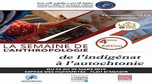 L'IRCAM participe à la 4ème édition de la semaine de l'Anthropologie