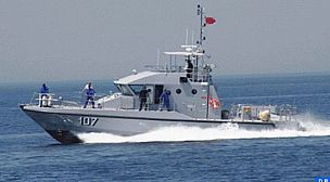 وحدات البحرية الملكية بالمتوسط تنقذ 249 مرشحا للهجرة السرية من جنوب الصحراء