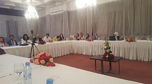 الحرمة رئيسة المنتدى العالمي للتضامن الإنساني و المستقبل لجهة سوس ماسة