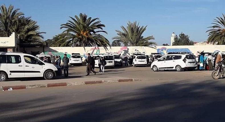 ارتفاع جنوني في تسعيرة الطاكسيات الاجرة الكبيرة باقليم سيدي سليمان