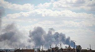 (مصدر عسكري)في غرب دمشق وقع انفجار مستودع ذخيرة للجيش السوري