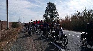 سكان دواوير جماعة ولاد حسون في مسيرة احتجاجية …