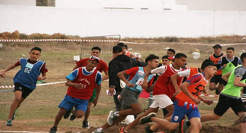 الإنطلاقة الرسمية للبطولة الإقليمية للعدو الريفي المدرسي بجماعة أزلا_(تطوان)
