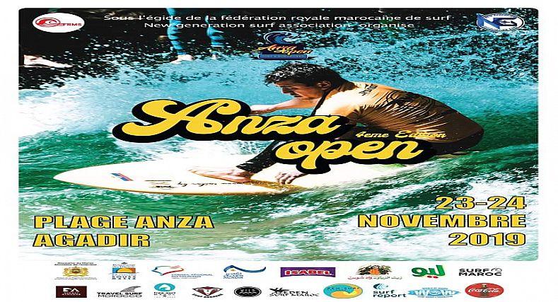 شاطئ أنزا أكادير يحتضن فعاليات الدورة الرابعة من منافسات الدوري الدولي المفتوح
