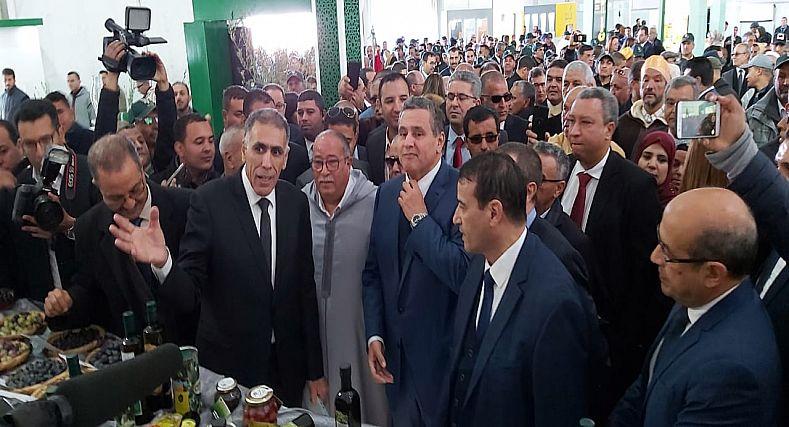 الوزير أخنوش يفتتح الملتقى الوطني للزيتون في نسخته السادسة بإقليم قلعة السراغنة