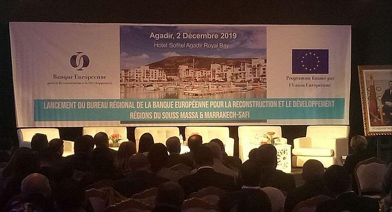 فيديو… افتتاح مقر البنك الأوربي لاعادة الاعمار والتنمية بأكادير