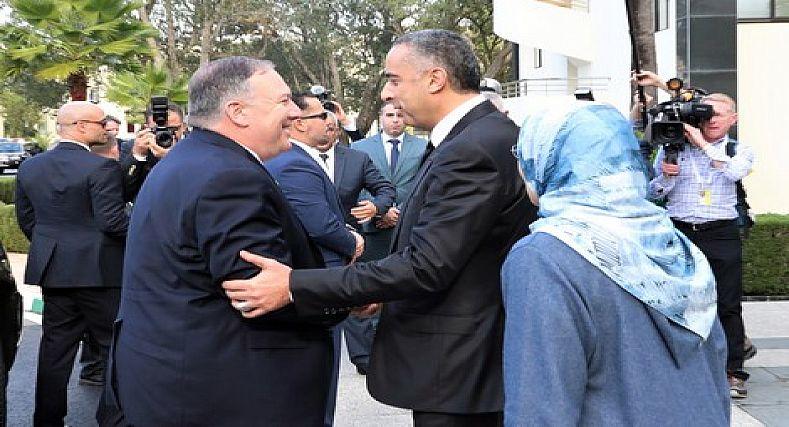 """في اخر لحظة """"بومبيو"""" يغادر المغرب دون لقاء الملك محمد السادس لاجندات دبلوماسية…."""