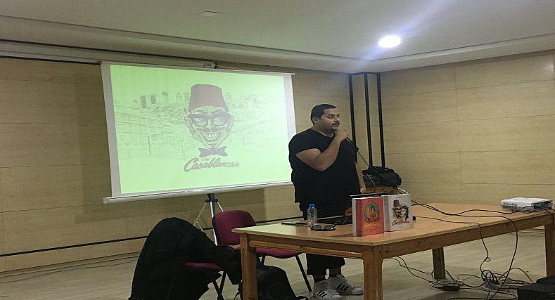 المبدع محمد البلاوي يلتقي جمهور مدينة وجدة