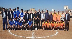 انطلاق فعاليات الدوري الربيعي الأول لكرة القدم بثانوية لوناسدة التأهيلية بقلعة السراغنة