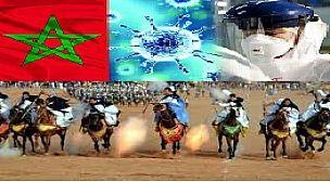 """مراكش : بسبب """"الكورونا"""" لجنة تضم السلطات الامنية والمحلية والمجتمع المدني تقرر تاجيل مهرجانا للتبوريدة بستلطانت"""