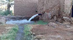 أورير بدون ماء، والسلطات في فم المدفع…
