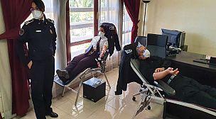 ولاية أمن أكادير تنخرط في حملة للتبرع بالدم