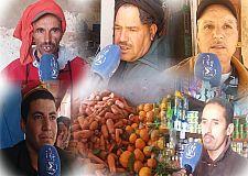 """ربورطاج حول اجواء التجارة في زمن كورونا بسوق """"اثنين ايت الرخا"""" بسيدي إفني"""