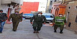 فيديو : متابعتنا لحالة الطوارئ بحي تدارت انزا أكادير التزام ، حزم وصرامة واعتقالات