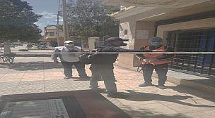 تعقيم المؤسسات العمومية باقليم سيدي سليمان