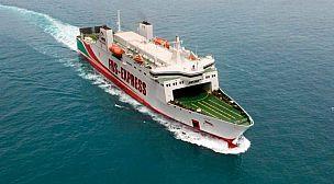 شركة FRS البحرية تنقل أكثر من 40.000 طن من البضائع في مضيق جبل طارق منذ بداية حالة الطوارئ الصحية