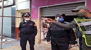 سوق الخبازات تحت مراقبة أمنية صارمة حفاظا على صحة وسلامة ساكنة عاصمة الغرب