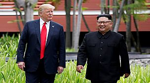 ترامب…أنا سعيد بالظهور العلني للرئيس الكوري