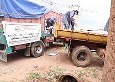 جمعية أنوار للتنمية والتضامن تساهم في مواجهة جائحة كورونا بضواحي مراكش