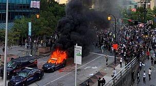 """الولايات المتحدة: الاحتجاجات ضد مقتل جورج فلويد تزداد توسعا وترامب يدعو إلى """"المصالحة"""""""