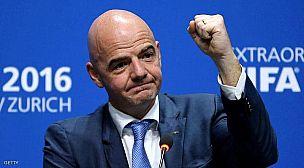 الفانتينو وسط العاصفة… تحقيق جنائي بحق رئيس الاتحاد الدولي لكرة القدم