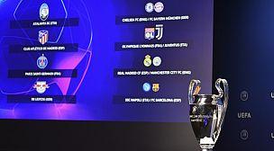 دوري أبطال أوروبا: مواجهة نارية محتملة بين برشلونة وبايرن في ربع النهائي