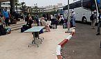 حافلات تنقل حوالي 400 شخصا من المغاربة العائدين من الخارج الى وجهات مختلفة