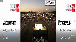 احتقان وحوادث سير في الطريق السيار البيضاء/برشيد بعد صدور قرار منع التنقل من وإلى مجموعة من المدن