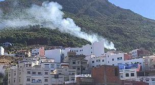 بشفشاون: اندلاع حريق مهول بغابة سيدي الحميد