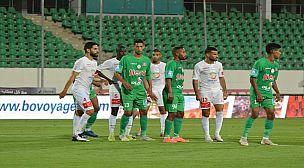 الرجاء البيضاوي يفوز على حسنية أكادير ويتربع على صدارة الدوري المغربي