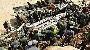 12 قتيلا و عدد من الجرحى في حادثة انقلاب حافلة لنقل المسافرين بشمال اكادير.