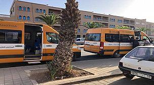 تيزنيت..المجلس الإقليمي يضع ست حافلات رهن إشارة الطلبة لتأمين عودتهم بعد انتهاء امتحانات الدورة الإستدراكية.
