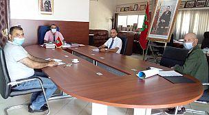 منظمة سورفرايدر المغرب والمديرية الاقليمية اكادير اداوتنان على خط حماية الساحل المغربي
