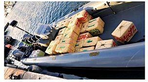 ضبط نصف طن من مخدر الشيرا بعرض ساحل القصر الصغير وتوقيف مهربين