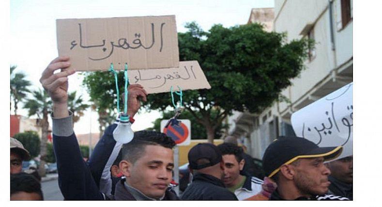 وادي زم.. احتجاجات غلاء الفواتير تخرج مكتب الماء والكهرباء عن صمته