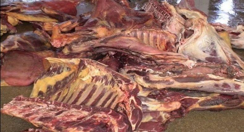 المصالح البيطرية بوزان تحجز على كمية كبيرة من اللحوم الفاسدة