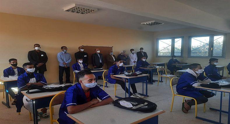افتتاح دروس الفرصة الثانية الجيل الجديد بمدرسة المسيرة بقلعة السراغنة
