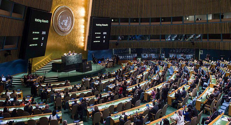 الكويت تجدد دعمها لمقترح الحكم الذاتي امام الجمعية العامة للامم المتحدة
