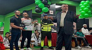"""جمعية """"شامبيونز فيتنس"""" تكرم رئيس عصبة للتيكواندو"""