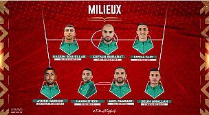 هذه لائحة المنتخب المغرب التي ستواجه أفريقيا الوسطى
