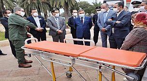 اكادير : تسليم مفتاتيح سيارة إسعاف من طرف المجلس الإقليمي لادوتنان لجماعة الدراركة