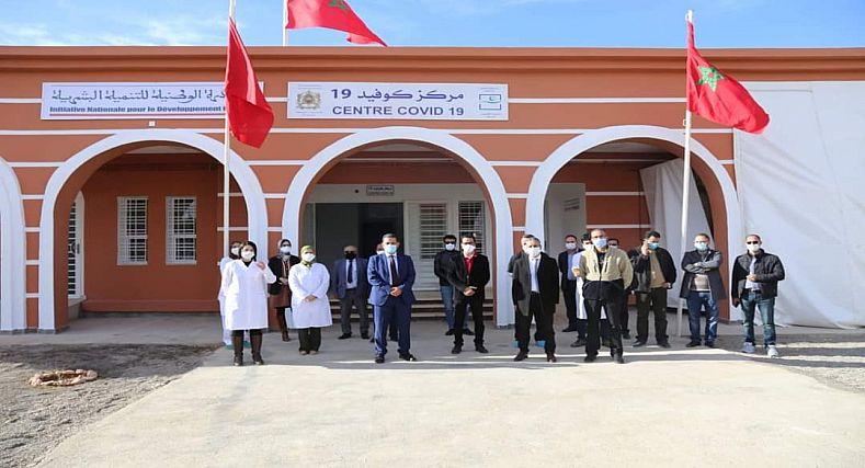 عامل إقليم جرسيف السيد حسن بن الماحي يدشن مركز صحي خاص بكوفيد 19 بمواصفات عصرية