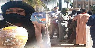 تيزنيت.. وقفة احتجاجية لمجموعة من الكسابة ضد عرقلة عبورهم الى اقليم الداخلة.
