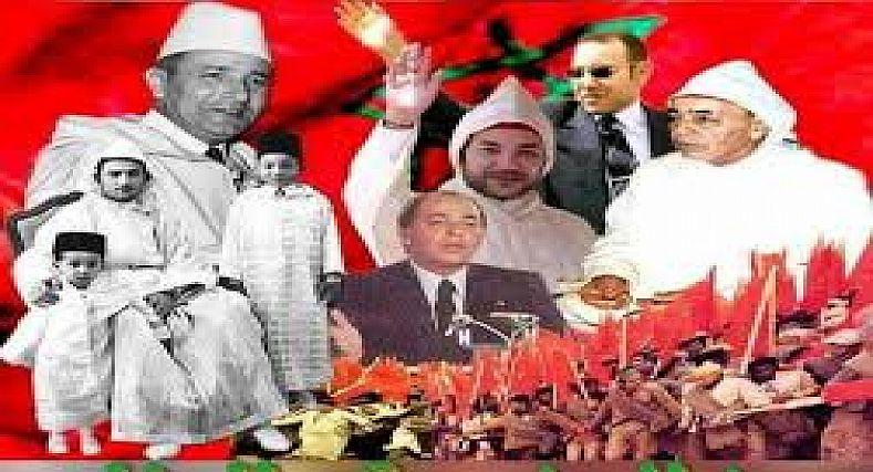 برقية تهنئة مرفوعة: الى أمير المؤمنين الملك محمد السادس نصره الله وأيده؛ بمناسبة الذكرى الخامسة والستين لعيد الاستقلال.