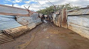 الأمطار تضاعف معاناة سكان دوار الضاية الصفيحي بجماعة مرشوش التابعة لإقليم الخميسات