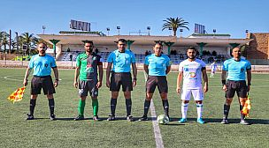 بلاغ استنكاري بخصوص المهزلة التحكيمية في مباراة الدورة 5 بين اولمبيك الدشيرة وسطاد المغربي